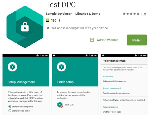 Test-DPC-on-play-store
